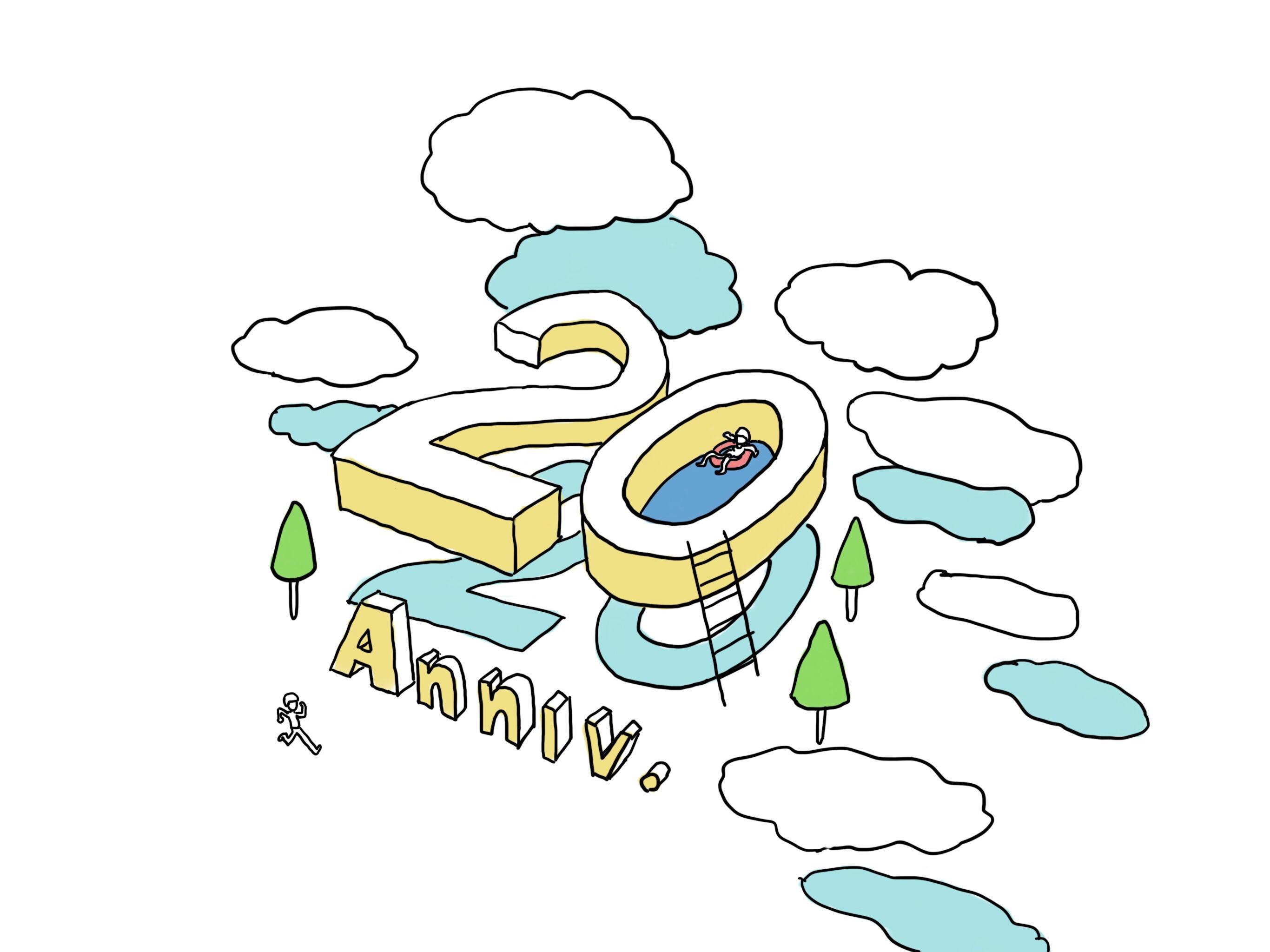 20周年を記念したサイトをまとめてみた。