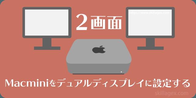 ディスプレイ mac mini